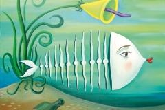 Milan Kunc-Nachdenklicher-Fisch