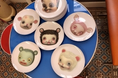 little Bears plates (Mark Ryden)